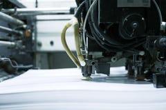 umowy kompensacyjne odcisku maszyny Zdjęcie Stock