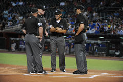 Umpires At Work. Royalty Free Stock Photography