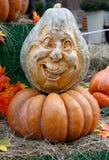 Umpkins przy festiwal Złotą jesienią Fotografia Royalty Free