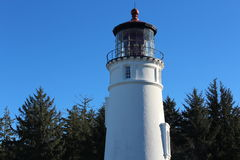 Umpqua River Lighthouse Oregon Coast Stock Images