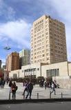 UMSA University in La Paz, Bolivia. UMSA University - UNIVERSIDAD MAYOR DE SAN ANDRES - and the Student`s Square in La Paz, Bolivia royalty free stock image