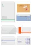 Umschlag Lizenzfreie Stockfotos