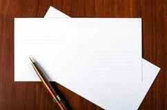 Umschlag Stockbilder