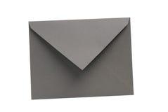 Umschlag getrennt im weißen Hintergrund lizenzfreies stockfoto