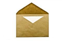 Umschlag mit dem Zeichen Lizenzfreies Stockfoto