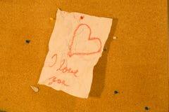 Umschlag mit Innerem Lizenzfreies Stockbild