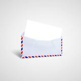 Umschlagzeichen. Lizenzfreie Stockfotos