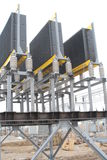 Umspannstation Stockbild