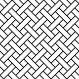 Umsponnenes nahtloses, Kunstlinie, geometrische Mustereinfassungsstreifen, diagonale shinglas, Schindel, Latte Lizenzfreies Stockfoto