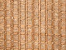 Umsponnenes Seil und Holz Stockfotos
