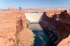 Umstrittene Glen Canyon Dam Lizenzfreie Stockfotografie