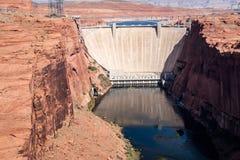 Umstrittene Glen Canyon Dam Stockbilder