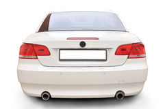Umwandelbare Autorückseite BMW-335i Stockfotografie
