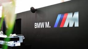Umwandelbare Vorbetrachtung BMW-M6 in Singapur Lizenzfreies Stockfoto