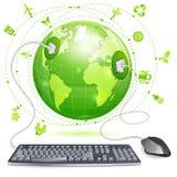 Umwelt-Konzept lizenzfreie abbildung