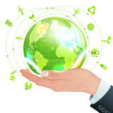 Umwelt-Konzept stock abbildung