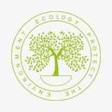 Umwelt-Logo Stockfotografie
