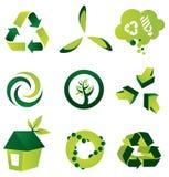 Umweltauslegung-Elemente Lizenzfreies Stockfoto