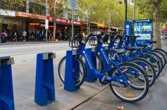 Umweltfreundlich, eco Transport in Melbourne, Victoria Stockfotos
