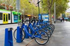 Umweltfreundlich, eco Transport in Melbourne, Victoria Stockfoto