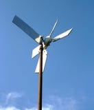 Umweltfreundliche aufbereitete Windmühle Lizenzfreies Stockbild