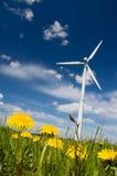 Umweltfreundliche Energie Stockbild