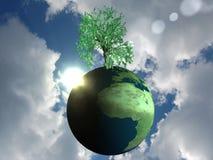 Umweltfreundliche Kugel Lizenzfreies Stockfoto