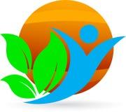 Umweltfreundliche Leute lizenzfreie abbildung