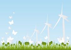 Umweltfreundlicher Hintergrund Lizenzfreies Stockfoto