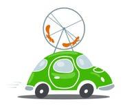 Umweltfreundlicher Transport stock abbildung