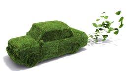 Umweltfreundliches Auto Lizenzfreie Stockfotos