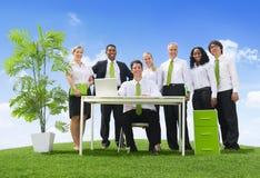 Umweltfreundliches Büro Lizenzfreies Stockfoto