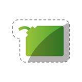 Umweltgallonengas-Gründesign lizenzfreie abbildung