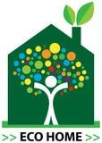 Umweltgerechtes Haus Lizenzfreie Stockfotos