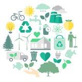 Umweltpflege-Vektor-Bild Stockfoto
