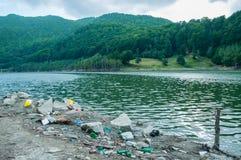 Umweltprobleme und Naturverschmutzung Stockbild