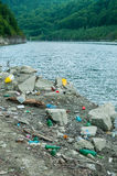 Umweltprobleme und Naturverschmutzung Stockbilder