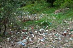 Umweltprobleme und Naturverschmutzung Stockfotos