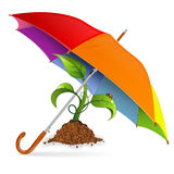 Umweltschutz-Konzept Lizenzfreies Stockbild