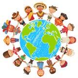 Umweltslogans, Sprechen und Phrasen über die Erde, die Natur und das gehende Grün stock abbildung