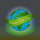 Umweltslogans, Sprechen und Phrasen über die Erde, die Natur und das gehende Grün Stockfoto