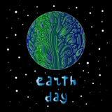 Umweltslogans, Sprechen und Phrasen ?ber die Erde, die Natur und das gehende Gr?n Auch im corel abgehobenen Betrag stock abbildung