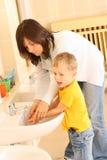 umyć rąk Obraz Royalty Free