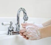 umyć rąk Obraz Stock