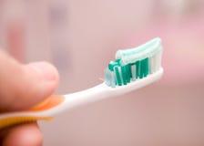 umyć zębów Zdjęcia Royalty Free