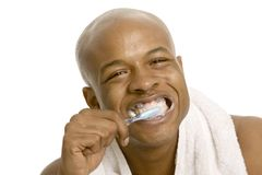 umyć zęby. Fotografia Stock