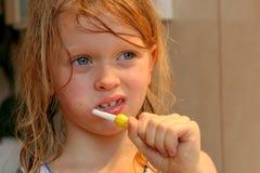 umyć zęby Fotografia Royalty Free
