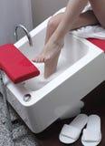 umyć stopy Zdjęcie Royalty Free