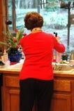 umyć warzywa Zdjęcie Royalty Free