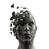 umysł jest kobieta ilustracja wektor